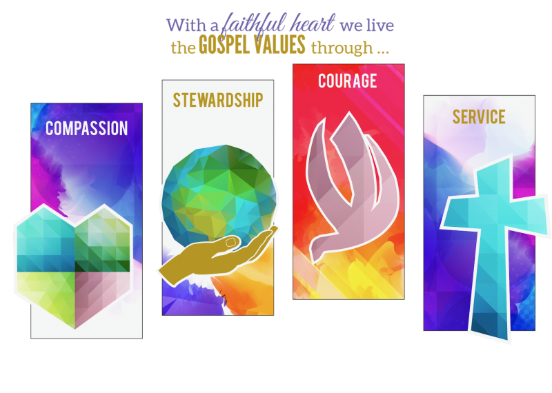 SBG School Values artwork 1